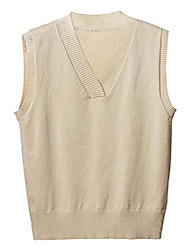 cheap -ladies casual sleeveless knitwear v neck winter knitted sweater vest tops