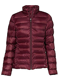cheap -ladies quilted jacket, water-repellent, red, 32, label: xxs
