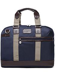 cheap -Men's Bags Oxford Cloth Shoulder Messenger Bag Laptop Bag Briefcase Zipper Handbags Office & Career Black Dark Blue