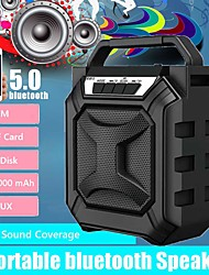 cheap -Outdoor Portable Subwoofer Column bluetooth Speaker Wireless Powerful Sports Speakers Radio FM Mp3 player