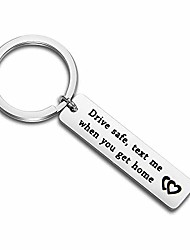 cheap -driver keychain drive safe text me when you get home sweet 16 gift trucker husband boyfriend gift new driver gift (drive safe text me)