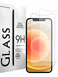 cheap -screen protector for iphone 12 mini, 5.4-inch, tempered glass screen protector film for iphone 12 mini, 2-pack