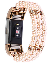 cheap -Smart Watch Band for Fitbit 1 pcs Jewelry Design PC Replacement  Wrist Strap for Fitbit charge3 Fitbit charge2