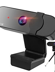 cheap -Webcam HD Desktop Laptop PC Web Camera 2K with Microphone USB Plug and Play Teaching Live Conference Computer Cameras HD2K