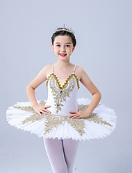 cheap -Ballet Dress Appliques Girls' Performance Theme Party Sleeveless High Polyester