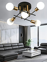 cheap -5-Light Nordic Modern Minimalist Living Room Bedroom Dining Room Office Apartment Study Hotel Model Room Decorative Ceiling Lighting