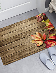cheap -Leaves Digital Printing Floor Mat Modern Bath Mats Nonwoven  Memory Foam Novelty Bathroom