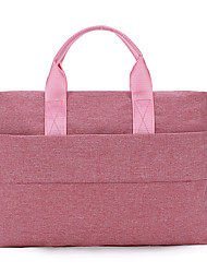 cheap -Unisex Bags Nylon Laptop Bag Top Handle Bag Zipper Handbags Office & Career Black Blushing Pink Khaki Light Gray