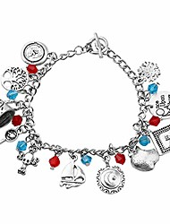 cheap -classic movie charm bracelet for women vintage tv series moive novel inspired gift for movie tv show lovers cosplay costume jewelry (once upon a time)