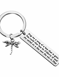 cheap -outlander theme sing me a song lyrics dragonfly keychain skye boat song claire jamie fraser lover gift for outlander fans (keychain)
