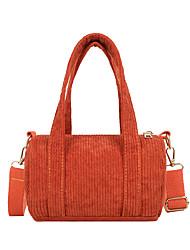 cheap -Women's Bags Top Handle Bag Daily Handbags Black Yellow Orange Khaki