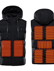 cheap -heated vest - lightweight usb rechargeable heated vest for men