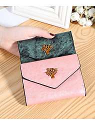 cheap -Women's Bags PU Leather Wallet Embossed Print Embossed 2021 Daily Date Black Blushing Pink Gold Green