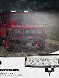 cheap -2Pcs LED 6 Inch White Driving Work Light Bar Spot Special Light Cup High Power Off Road Lights For Truck Forklift Tractor ATV SUV UTV Car