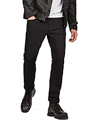 cheap -men's jeans 3301 straight fit, black (rinsed 8970-082), 31w / 32l