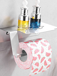 cheap -Toilet Paper Holder New Design / Adorable / Cool Contemporary / Modern Stainless Steel Bathroom / Hotel bath Wall Mounted