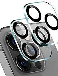 cheap -2-PCS Camera Lens Protector For iPhone 12 pro max Scratch Proof Camera Protector Tempered Glass Ultra-clear Lens Cover Case iPhone 11 pro max/iPhone 12 mini/iPhone 12