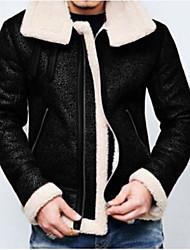 cheap -men's winter raf b3 real sheepskin shearling flight pilot aviator leather jacket (xxl)