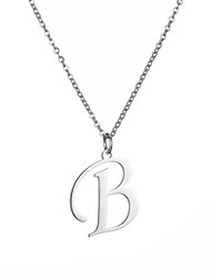 cheap -big letter initial necklace 925 sterling silver cubic zirconia cz name alphabet pendant necklaces jewelry gifts box for women men girls boys