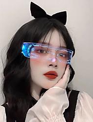 cheap -LED Mobile Phone DIY Bluetooth APP Luminous Glasses Cheer Editable Dynamic Magic Glasses