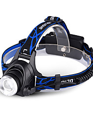 cheap -led head torches, super bright 10000 lumen 3 modes zoomable waterproof led headlamp for cycling, running, dog walking,