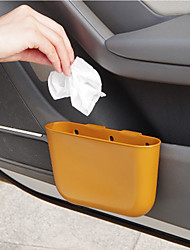 cheap -YAPAI Car Trash Can Suspension Garbage Can Car Storage Box Mini Car Trash Bin Car Interior Accessories Glove Compartment