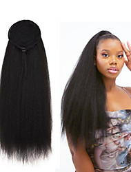cheap -Clip In / On Ponytails Women / Best Quality / Kanekalon Hair Synthetic Hair Hair Piece Hair Extension Straight / Curly 20 inch Street / Dailywear / Date