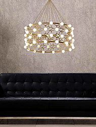 cheap -48-Light 60 cm Chandelier Acrylic Electroplated Traditional Classic 110-120V 220-240V