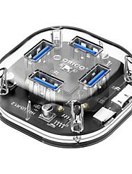 cheap -ORICO Usb3.0 Splitter Full Transparent Hub Computer Notebook 4-port Converter