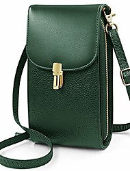 cheap -reetee women crossbody phone bag genuine leather phone bags for womens, lightweight small cellphone shoulder bag purse wallet with adjustable shoulder strap and 7 card slots (green)