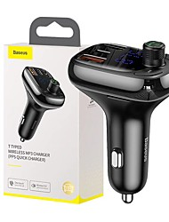 cheap -BASEUS Bluetooth 5.0 FM Transmitter Car MP3 FM Modulator Car