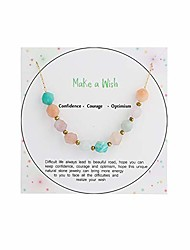 cheap -many kinds of nature stone handmade necklace adjustable chokers jewelry for women girls gifts