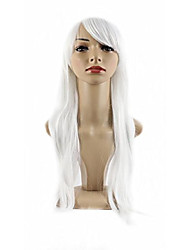 "cheap -xiaoyu 20""70cm natural design long-length cosplay costume party wigs - pure white"