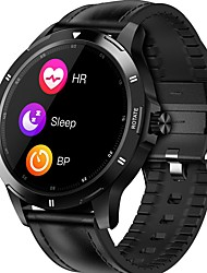 cheap -K15 Unisex Smartwatch Bluetooth Heart Rate Monitor Blood Pressure Measurement Calories Burned Thermometer Media Control Stopwatch Pedometer Call Reminder Activity Tracker Sleep Tracker