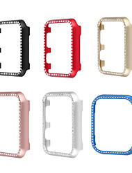 cheap -Cases For Apple iWatch Apple Watch Series 7 / SE / 6/5/4/3/2/1 / Apple Watch Series 6 / SE / 5/4 44mm / Apple Watch Series  6 / SE / 5/4 40mm Alloy Screen Protector Smart Watch Case Compatibility