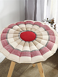 cheap -Japanese-style Coarse Linen Round CraftSeat Cushion Simple Home Office Chair Cushion Home Office Seat Bar Dining Chair Seat Pads Garden Floor Cushion