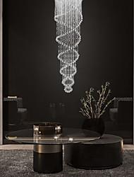 cheap -80cm(31inch) Crystal LED Pendant Light Metal Crystal Electroplated Modern Contemporary 110-120V 220-240V