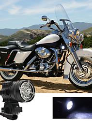 cheap -2Pcs 6 LED Working Spot Light Motorbike Fog Lamp 60W LED Scooters Spotlight Motorcycles Headlight White Super Bright