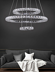 cheap -3 Rings Modern LED Living Dining Room Chandelier Pendant Lights Suspension Luminaire Suspendu Led Ring Ceiling Chandeliers Lighting Lamp Fixtures 110-120V 220-240V