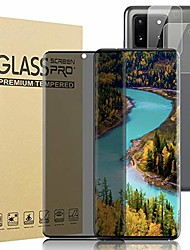 """cheap -[1+2] for galaxy s20 ultra (6.9"""") 5g privacy screen protector tempered glass + 2 pack camera lens protector [anti-spy] [9h hardness] [case friendly] 3d curved glass film for samsung galaxy s20 ultra"""