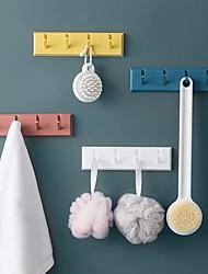 cheap -Hooks Washable / Multifunction / Reusable Modern Contemporary ABS 4pcs - tools Bath Organization