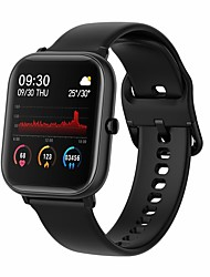 cheap -P23 Unisex Smartwatch Fitness Running Watch Bluetooth Heart Rate Monitor Calories Burned Media Control Health Care Camera Control Pedometer Call Reminder Activity Tracker Sleep Tracker Sedentary