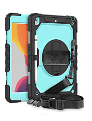 cheap -Case For Samsung Galaxy Samsung Galaxy Tab S7plus / T970/975/976 Shockproof Full Body Cases Solid Colored Silicone / PC