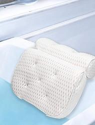 cheap -100% Polyester Fiber 3D Bath Pillow SPA Pillow Washable And Breathable 3D Bone Shaped Bathtub Pillow Antibacterial Mildew Proof Bathtub pillow