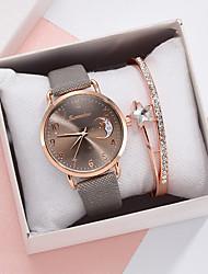 cheap -Women's Quartz Watches Quartz Stylish Fashion Casual Watch Analog White Black Blue / One Year / PU Leather