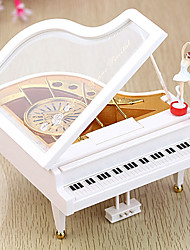 cheap -Music Box Piano Unique Wood Women's Unisex Girls' Kid's Adults Graduation Gifts Toy Gift