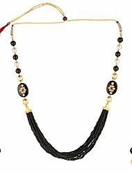 cheap -indian handcrafted traditional designer simulated pearl beaded multi stranded necklace with dangler earrings bollywood jewelry sets for women and girls