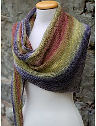 cheap -Women's Active Rectangle Scarf - Print Windproof