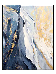 cheap -100% Hand-Painted Contemporary Art Oil Painting On Canvas Modern Paintings Home Interior Decor Abstract Art Sea Landscape Painting Large Canvas Art(Rolled Canvas without Frame)