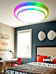 cheap -34cm Colorful Two Story Ceiling Lamp WIFI SMART APP Dimmer Ceiling Lamp Compatible With Google Alexa Home